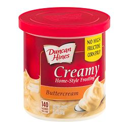 Duncan Hines Creamy Frosting Buttercream 454 g