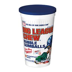 Big League Chew Bubble Gumballs Cup 108 g