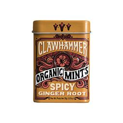 Clawhammer Organic Mints Spicy Ginger Root 30 g