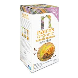Nairn's Super Seeded Organic Oatcakes 200 g