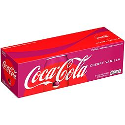 Coca-Cola Cherry Vanilla 355 ml 12 ks Celé Balení