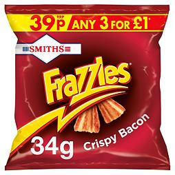 Frazzles Crispy Bacon 34 g PM