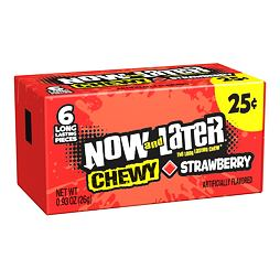 Now and Later Chewy Strawberry 26 g PM