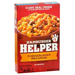 Hamburger Helper Cheeseburger Macaroni 187 g