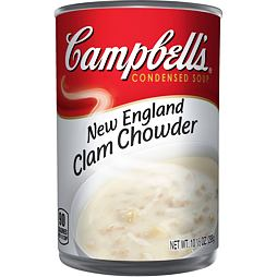 Campbell's New England Clam Chowder Soup 298 g