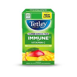 Tetley Super Green Tea Immune Mango & Pineapple 20 ks 40 g