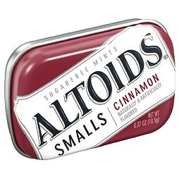 Altoids Smalls Cinnamon Sugar Free 10.5 g