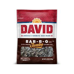 David Jumbo Bar-B-Q Sunflower Seeds 149 g