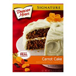 Duncan Hines Signature Carrot Cake Mix 432 g