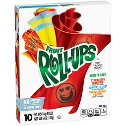 Fruit Roll-Ups Variety 141 g