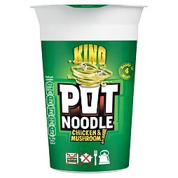 King Pot Noodle Chicken & Mushroom 114 g