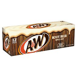 A&W Root Beer 355 ml 12 ks Celé Balení