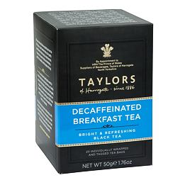 Taylors of Harrogate Decaff Breakfast Tea 20 ks 50 g