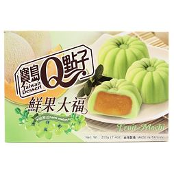 Q Fruit Mochi Hami Melon 210 g