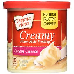 Duncan Hines Creamy Frosting Cream Cheese 454 g