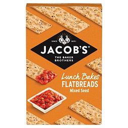 Jacob's Mixed Seed Flatbreads 150 g