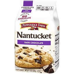Pepperidge Farm Nantucket Dark Chocolate Cookies 204 g