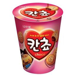 Lotte Kancho Choco Biscuit Cup 95 g