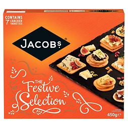 Jacob's Crackers Festive Selection 450 g