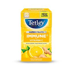 Tetley Super Fruits Immune Lemon & Ginger 20 ks 40 g