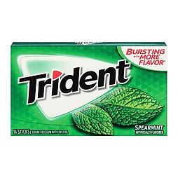 Trident Spearmint 14 ks 27 g
