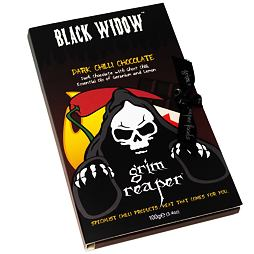 Black Widow Dark Chilli Chocolate 100 g