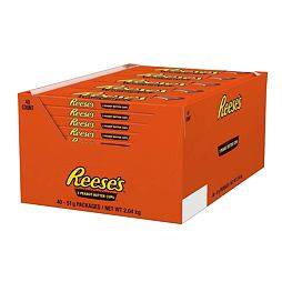Reese's 3 Peanut Butter Cups 51 g Box of 40