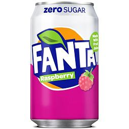 Fanta Raspberry Zero Sugar 330 ml