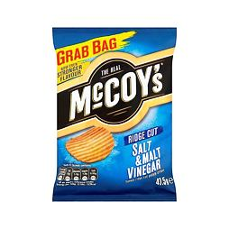 McCoy's Salt & Malt Vinegar 47.5 g