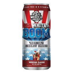 Merica Energy Red, White & Boom 'Merican Classic 480 ml
