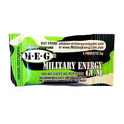 Military Energy Gum Spearmint 12.5 g