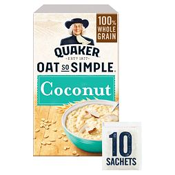 Quaker Oats Oat So Simple Coconut 10 ks 333 g