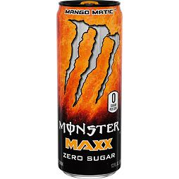 Monster Maxx Zero Sugar Mango Matic 355 ml