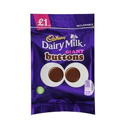 Cadbury Dairy Milk Giant Buttons 95 g PM
