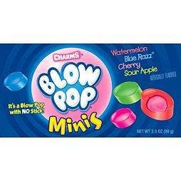 Charms Blow Pops Minis 99 g