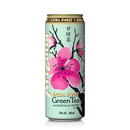 Arizona Extra Sweet Green Tea with Ginseng & Honey 680 ml