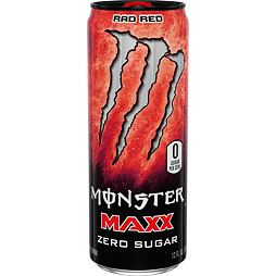 Monster Maxx Zero Sugar Rad Red 355 ml