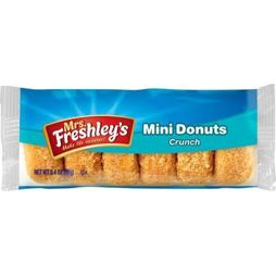 Mrs. Freshley's Mini Donuts Crunch 96 g