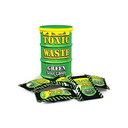 Toxic Waste Green Sour Candy 42 g