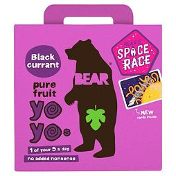 Bear Pure Fruit Yoyo Blackcurrant Pack 5x20 g