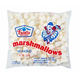 Fairco Mini White Marshmallows 150 g