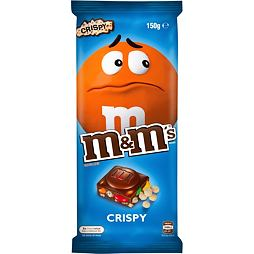 M&M's Milk Chocolate Bar with Minis Crispy 150 g