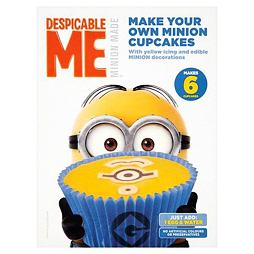 Make Your Own Minions Cupcake Mix 220 g