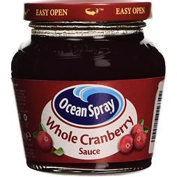 Ocean Spray Cranberry Wholeberry Sauce 250 g