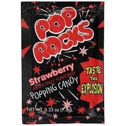 Pop Rocks Strawberry 9.5 g