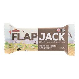 Flapjack Dark Chocolate & Ginger 80 g