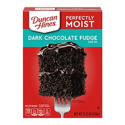 Duncan Hines Dark Chocolate Fudge Cake Mix 432 g