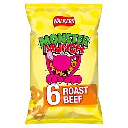 Monster Munch Roast Beef 6x22 g