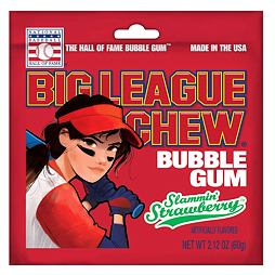 Big League Chew Strawberry 60 g