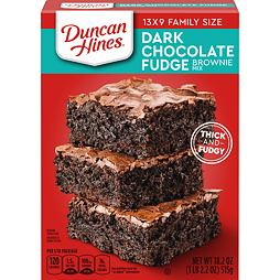 Duncan Hines Dark Chocolate Brownie Mix 515 g